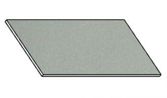 Kuchyňská pracovní deska 120 cm šedý popel (asfalt)