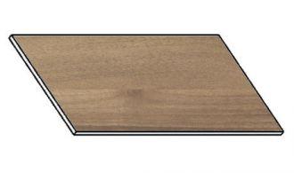 Kuchyňská pracovní deska 140 cm ořech ontario