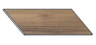 Kuchyňská pracovní deska 160 cm ořech ontario