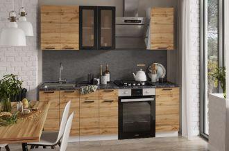 Kuchyně DAKOTA 160 bílá/dub wotan
