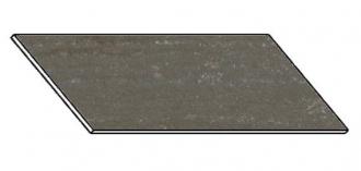 Kuchyňská pracovní deska 180 cm travertin tmavý