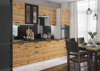 Kuchyně DAKOTA 280 bílá/dub wotan