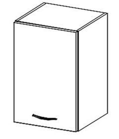 W40 horní skříňka jednodveřová KARMEN levá