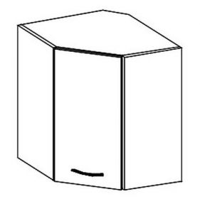 WRP horní rohová skříňka KARMEN pravá