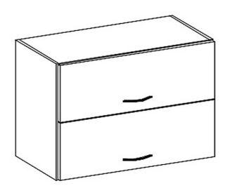 W60OKPP horní skříňka výklopná GREY