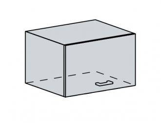 60VP h. skříňka výklopná GREECE bk/granát metalic