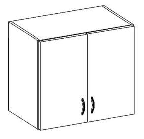 W80 horní skříňka dvoudveřová CHAMONIX II
