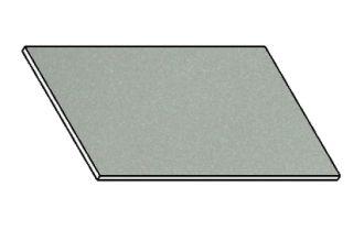 Kuchyňská pracovní deska 80 cm šedý popel (asfalt)