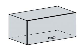 80VP h. skříňka výklopná VALERIA bk/red stripe