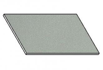Kuchyňská pracovní deska 90 cm šedý popel (asfalt)