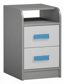 Kontejner k prac. stolu GYT 9 antracit/bílá/modrá