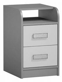 Kontejner k prac. stolu GYT 9 antracit/bílá/šedá