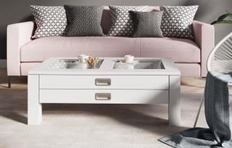 Konferenční stolek ANZIO bílá