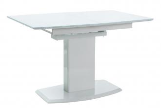 Jídelní stůl AUSTIN rozkládací bílý
