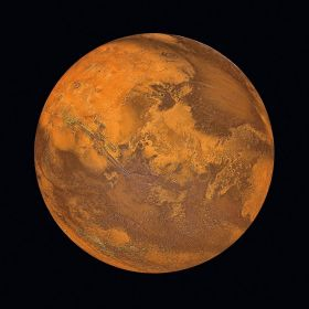 Skleněný obraz MARS 80x80 cm