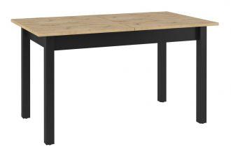 Jídelní stůl rozkládací KANTA 10 dub artisan/černá