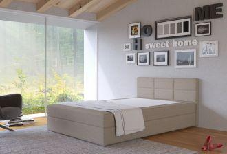 Postel s matrací s ÚP TISA 120x200cm (PURI23)