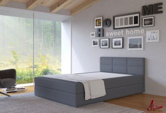 Postel s matrací s ÚP TISA 120x200cm (PURI96)
