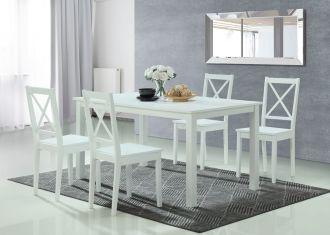 Jídelní stůl STILO 110x70 cm bílý