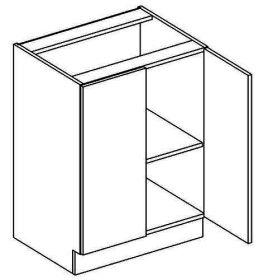 D60 dolní skříňka dvoudvéřová MERLIN