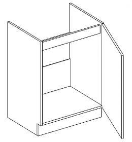 D60ZL d. skříňka pod dřez LUCIA dub sonoma