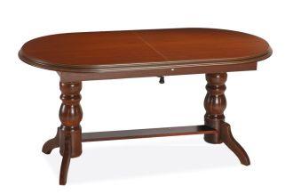 Jídelní/konferenční stůl DANIEL rozkládací barva kaštan
