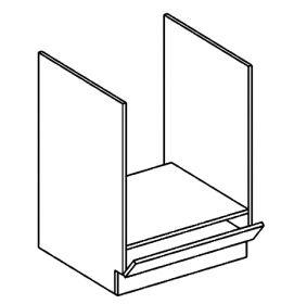 DK60 skříňka na vestavnou troubu LUCIA dub sonoma