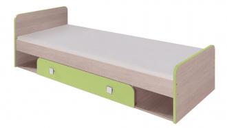 Dětská DUO D9 postel 80x200 cm santana/zelená