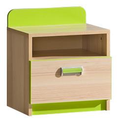 Noční stolek LIMO L12 zelený