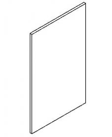 Dvířka na myčku 45 cm MIA picard/bílá vysoká