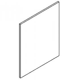 Dvířka na myčku 60 cm MIA picard/bílá vysoká