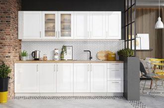 Kuchyně FARLEY 260 s SU bílá lesk