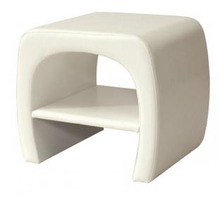 Noční stolek ORLEANS bílý II