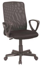 Kancelářská židle Q-083 černá