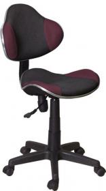 Studenstská židle PQ-G2 černá/fialová