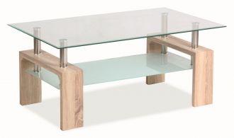 Konferenční stolek LISA BASIC dub sonoma