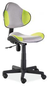 Studentská židle Q-G2 šedá/zelená