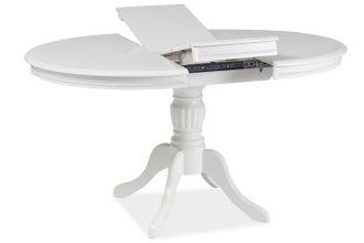 Jídelní stůl OLIVIA rozkládací bílý