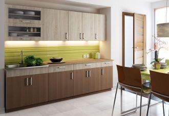 Kuchyně BIANCA 260 s výklopem