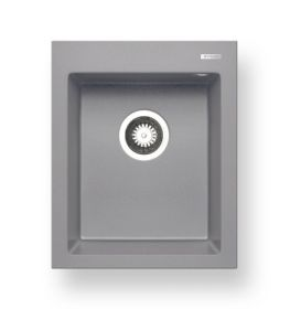 Pyragranitový dřez SIROS 1B (47x51,5) grey