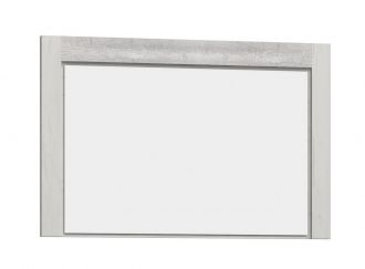 Zrcadlo INDIANAPOLIS I-12 jasan bílý