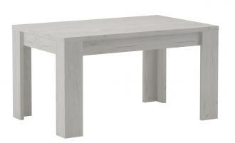 Jídelní stůl rozkládací KORA 160x90 jasan bílý