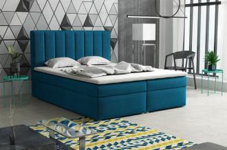 Postel s matrací s ÚP LUCINI BOX 160x200 výběr látek