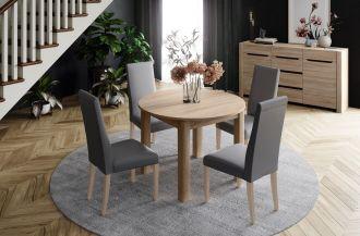Jídelní stůl rozkládací SAPRI sonoma