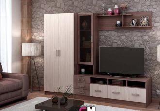 Obývací sestava ITALIA SET 2 jasan šimo