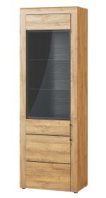 Vitrína 1-dveřová KAMA 10