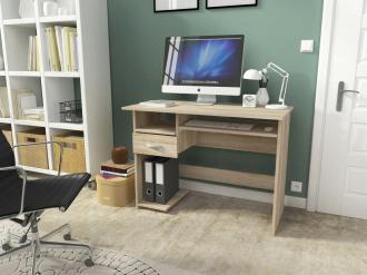 Pracovní stůl KRZYS dub sonoma