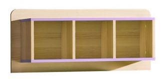 závěsný regál LIMO L9 fialový