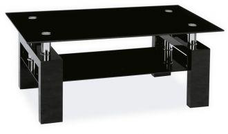 Konferenční stolek LISA II černý lak