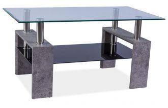 Konferenční stolek LISA II šedý kámen